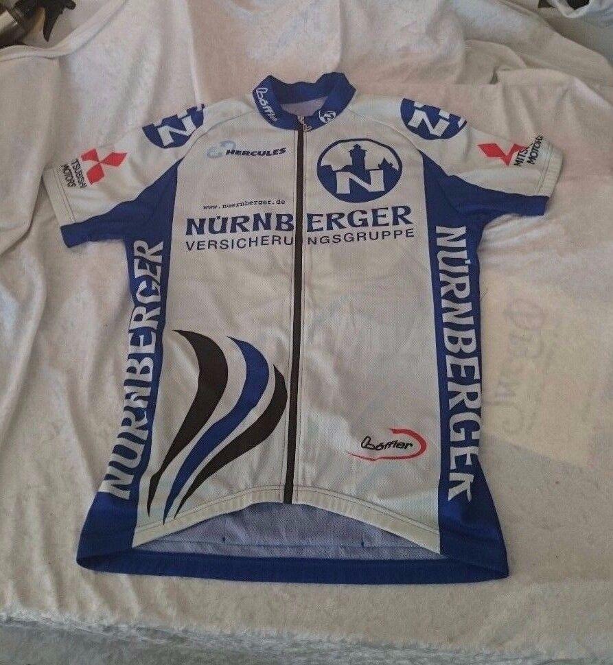 NWOT Loffler Hercules Nurnberger Mitsubishi Motors Jersey cycling  RARE       buy 100% authentic quality