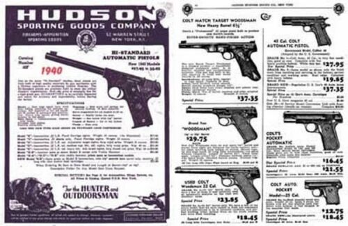 Hudson Sporting Goods 1940 Catalog