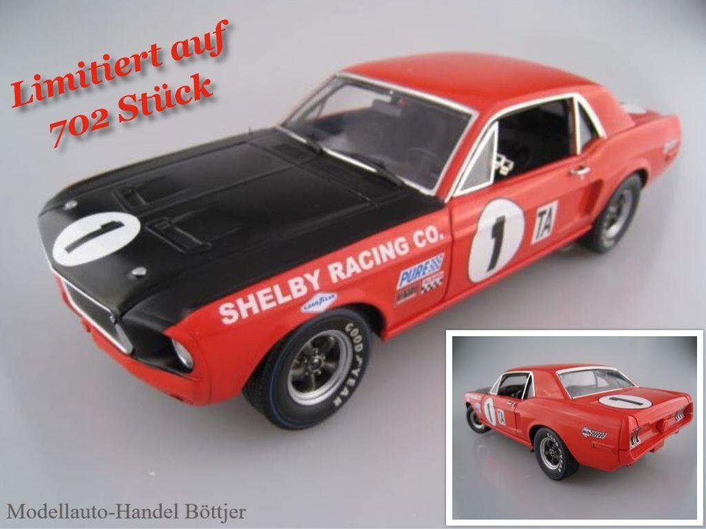 JERRY TITUS Shelby gt-350 1968 limitée à 702 unités GMP Acme 1 18 neuf dans sa boîte NEUF