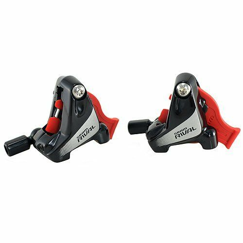 SRAM Rival 22 Rival 1 Complete Flat Mount Caliper Assembly 18mm (Front+Rear)