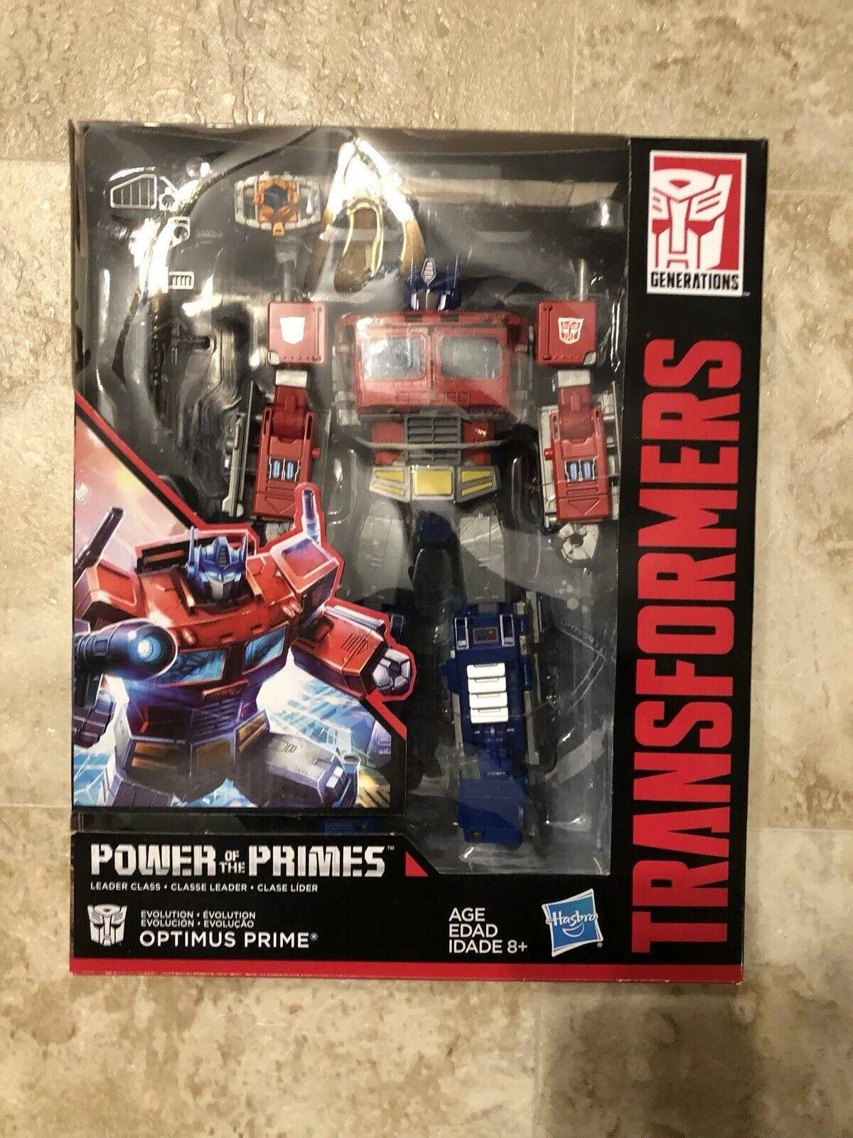 Transformers energia of The Primes Leader classe Optimus Prime cifra Lot  2
