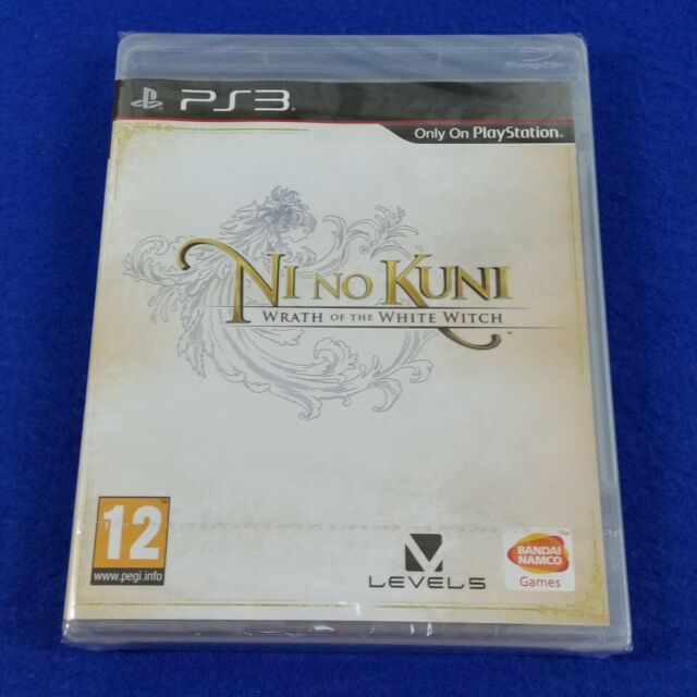 ps3 NI NO KUNI Wrath Of The White Witch RPG Game NEW & Sealed REGION FREE PAL UK