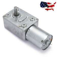 Quick Dc 12v 6rpm High Torque Turbo Worm Electric Geared Motor Jgy370 Low Speed