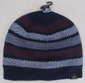 a5c10658 ADIDAS Men's Climawarm Cascades Beanie Hat Collegiate Navy One Size ...