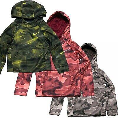 Nike Kids Boys Dri Fit Therma Pullover Hoodie