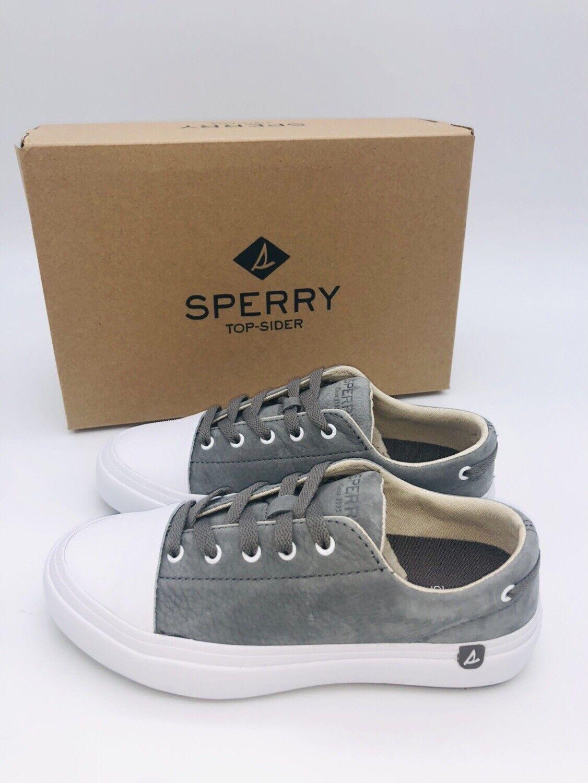 Sperry Top Sider Para Para Para Mujeres Con Cordones Tenis Haven Puntera-gris oscuro  garantía de crédito