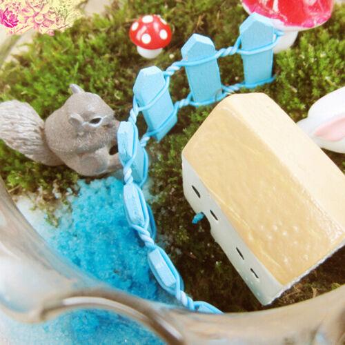 Holz Lattenzaun Miniatur Puppenhaus Bonsai Handwerk Landschaft DekorYLW