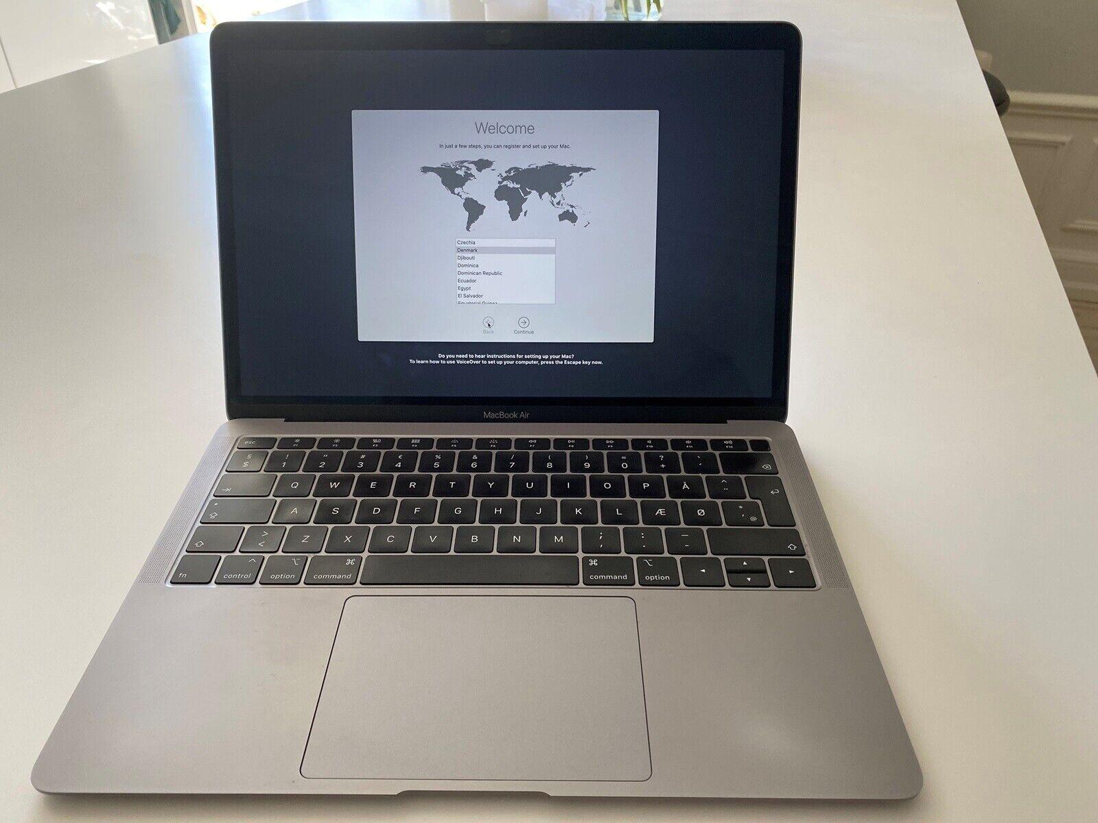 MacBook Air 2018 13