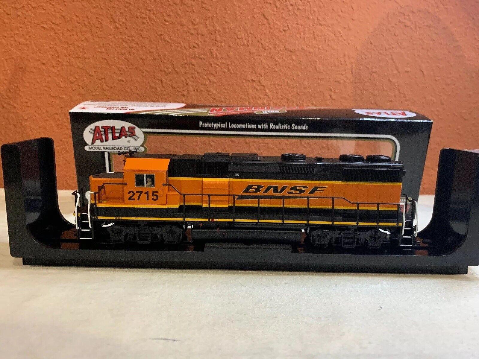 Escala Ho Atlas Trainman artículo oro  10001784 GP39 -2 ph 2 Loco BNSF Bold Heritag  2715