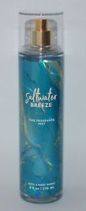 1-BATH-amp-BODY-WORKS-SALTWATER-BREEZE-FRAGRANCE-MIST-SPRAY-SPLASH-LARGE-8OZ-NEW