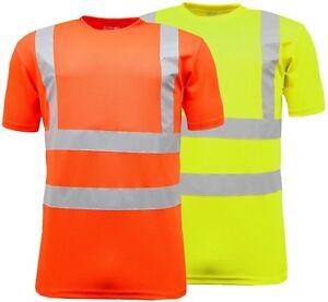 Vis Alto Alta T Uomo Shirt Hi A Visibilità VisibilitàManica Corta 8mn0Nw