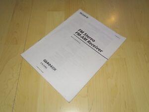 Original-Sony-STR-D965-Bedienungsanleitung-Manual-Deutsch