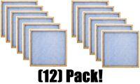 12 Flanders 10055.011220 12 X 20 X 1 Flat Panel Fiberglass Furnace Filters
