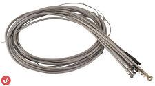 QUALITY PTFE lined Vespa PX Millenium Complete Cable Set