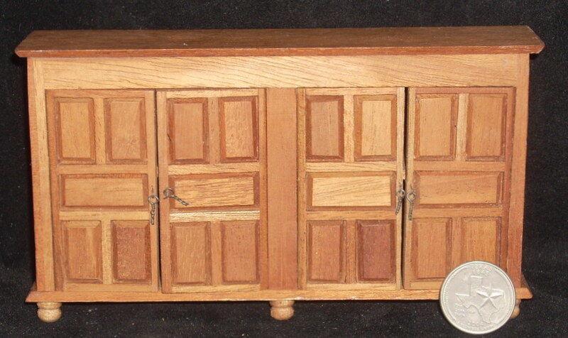 Dollhouse Miniature Mexican Bureau Sideboard Hacienda Furniture 1 12 MAF2225