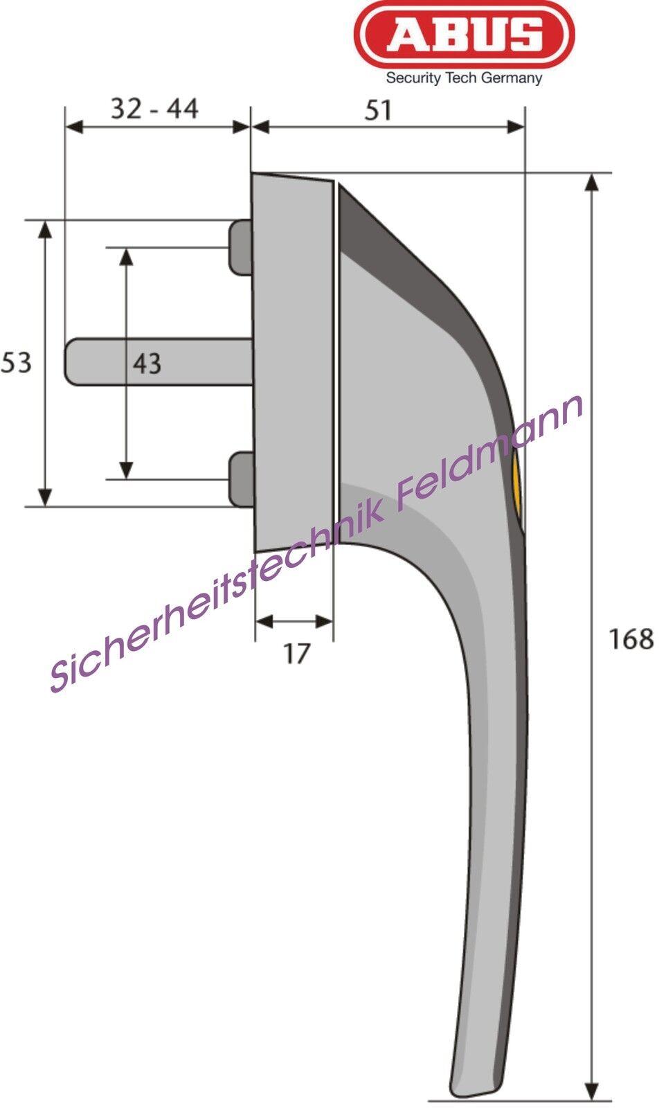 ABUS FG300 abschließbare abschließbare abschließbare Fenstergriffe einzeln od. Set AL0089 AL0125 AL0145 usw. | Erschwinglich  cdf74f