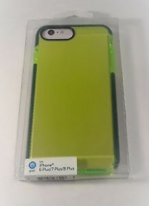 low priced fa7c0 7c953 Details about ONN iPhone Case For iPhone 6+ iPhone 7+ iPhone 8+ - Lime  Green w/ Green Border