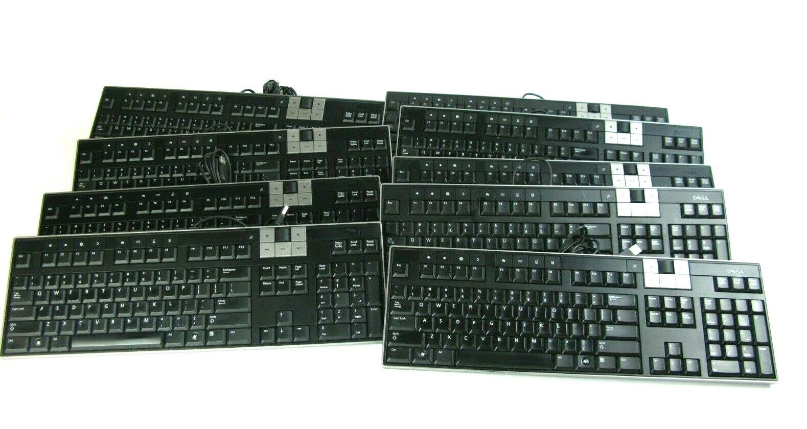 Dell Y-U0003-DEL5 U473D Enhanced Multimedia USB Keyboard 2 USB Ports (Lot of 10). Buy it now for 45.00