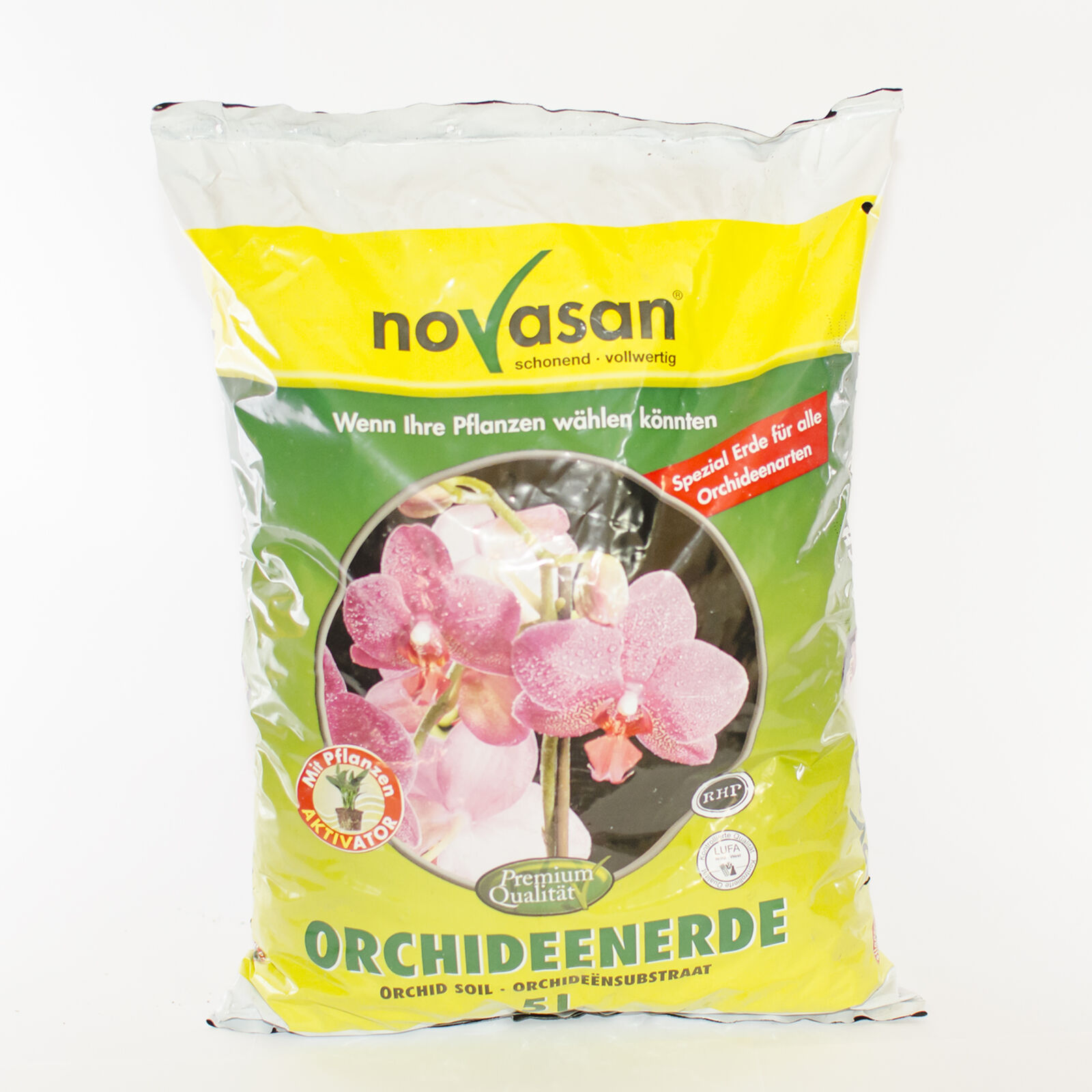 20 Liters (4 X5L) ORCHID SOIL novasan, Earth, Special Earth