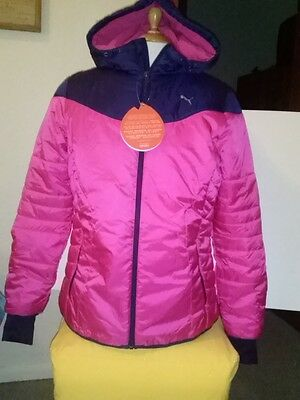 Puma Active Norway Jacket Jacke Winterjacke Damen Größe 42