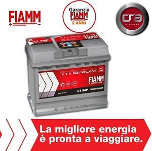 L154p car battery fiamm Titanium Pro 54ah 520a (Point 1.3 Multi