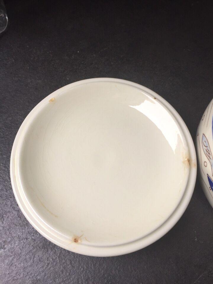 Porcelæn, Fiskeskål, Knabstrup