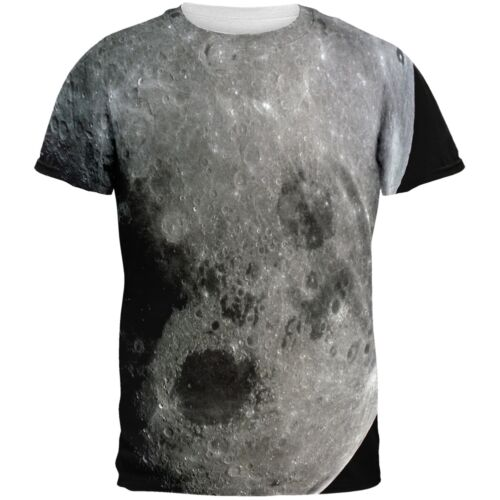 Moon All Over Adult T-Shirt