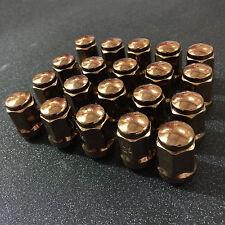 Bronze Steel lug nuts 12x1.5 ball seat for OEM wheel honda acura toyota lexus