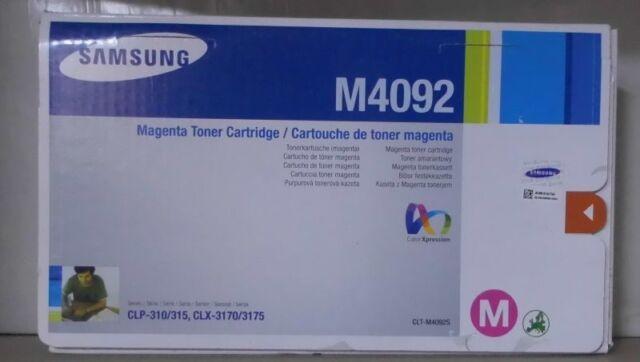 Original Samsung CLT-M4092S Toner magenta CLP 310 315 CLX 3170 3175 OVP A
