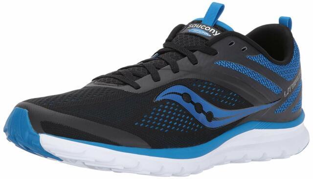 Saucony Men's Liteform Miles Running Shoe, Blue/Black, Size 8.5 rs5p