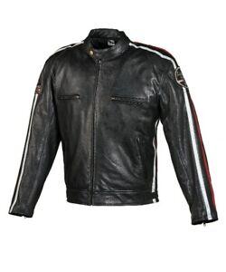 Motorrad-Lederjacke-Revenge-Damen-Schwarz-Gr-42
