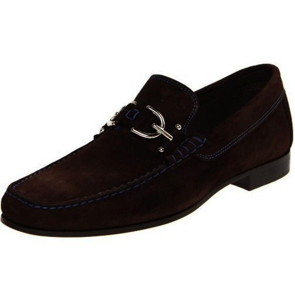 MENS shoes Donald J Pliner DACIO 2-02 Moccasin Loafer Slip On Expresso Suede