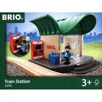 Brio Train Station Wooden Train Engine Thomas Compatible 33745