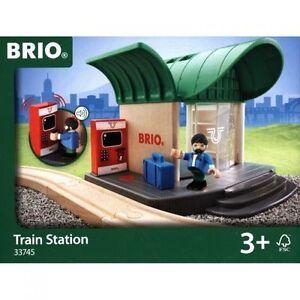 BRIO Train Station Wooden Train Engine Thomas compatible NEW 33745