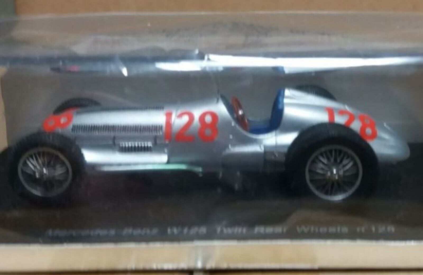 WOW EXTREMELY RARE Mercedes 1939 W125 Lang Winner GH Climb Resin 1 43 Spark