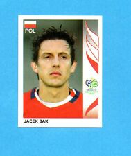 PANINI-GERMANY 2006-Figurina n.58- JACEK BAK - POLONIA -NEW BLACK