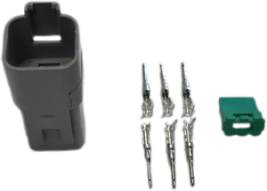 Deutsch 6 Way Plug Dt Series Male Connector Kit Mure Dt04-6P C015//W6P