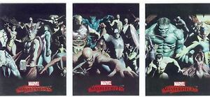 Marvel-Masterpieces-2007-Complete-Alex-Ross-Splash-Chase-Card-Set-1-3