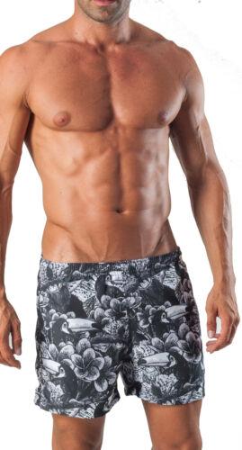 Geronimo Da Uomo Nuoto Pantaloncini Nuoto Animale TUCANO Sport Attivo Pantaloncini Da Spiaggia