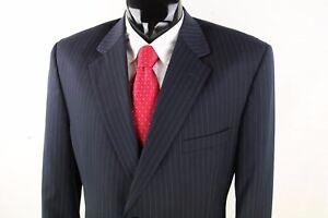 Joseph 46s Giacca in scuro uomo a blu righe lana lana di Feiss da rp45nxrq