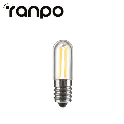 10X Mini E14 E12 Dimmable LED Fridge Freezer Filament Light Bulbs 1W 4W Lamps SS