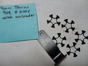 Details about 9mm Full Moon Clips for Taurus 905 star inside, new, lot of  five (5) w unloader