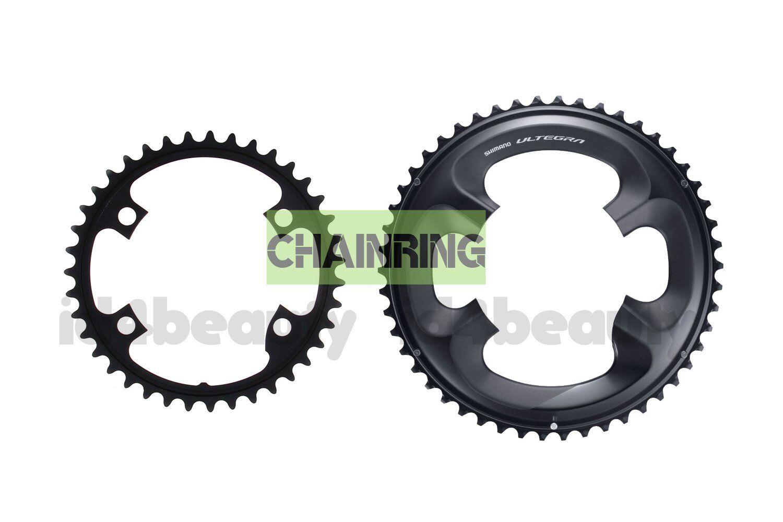 Shimano Genuine 53T & 39T Ultegra FC-R8000 Outer Inner Chainrings 11 Spd