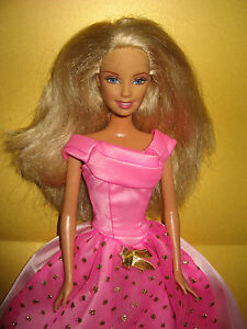 B432-BLONDE BARBIE PRINZESSIN MATTEL 1998 ORIGINALES ROSA BARBIE ... 1015544862