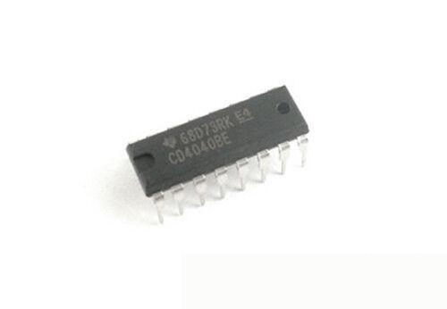 100Pcs CD4040BE DIP-16 CD4040 4040BE 4040 Counter Dividers.