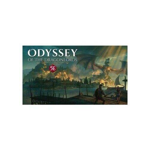 Deluxe poster map Modiphius Entertainment MUH051949 Odyssey of the Dragonlords