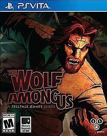 The Wolf Among Us Sony PlayStation Vita, 2014  - $5.30
