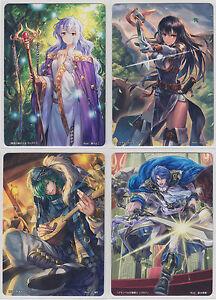 Fire Emblem 0 Cipher Card Game Booster Part 22 NHN Complete Set 81 Cards