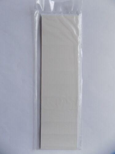 100 Stück weiß LEITZ 1901-00-01 Blanko-Schildchen 1901 Karton