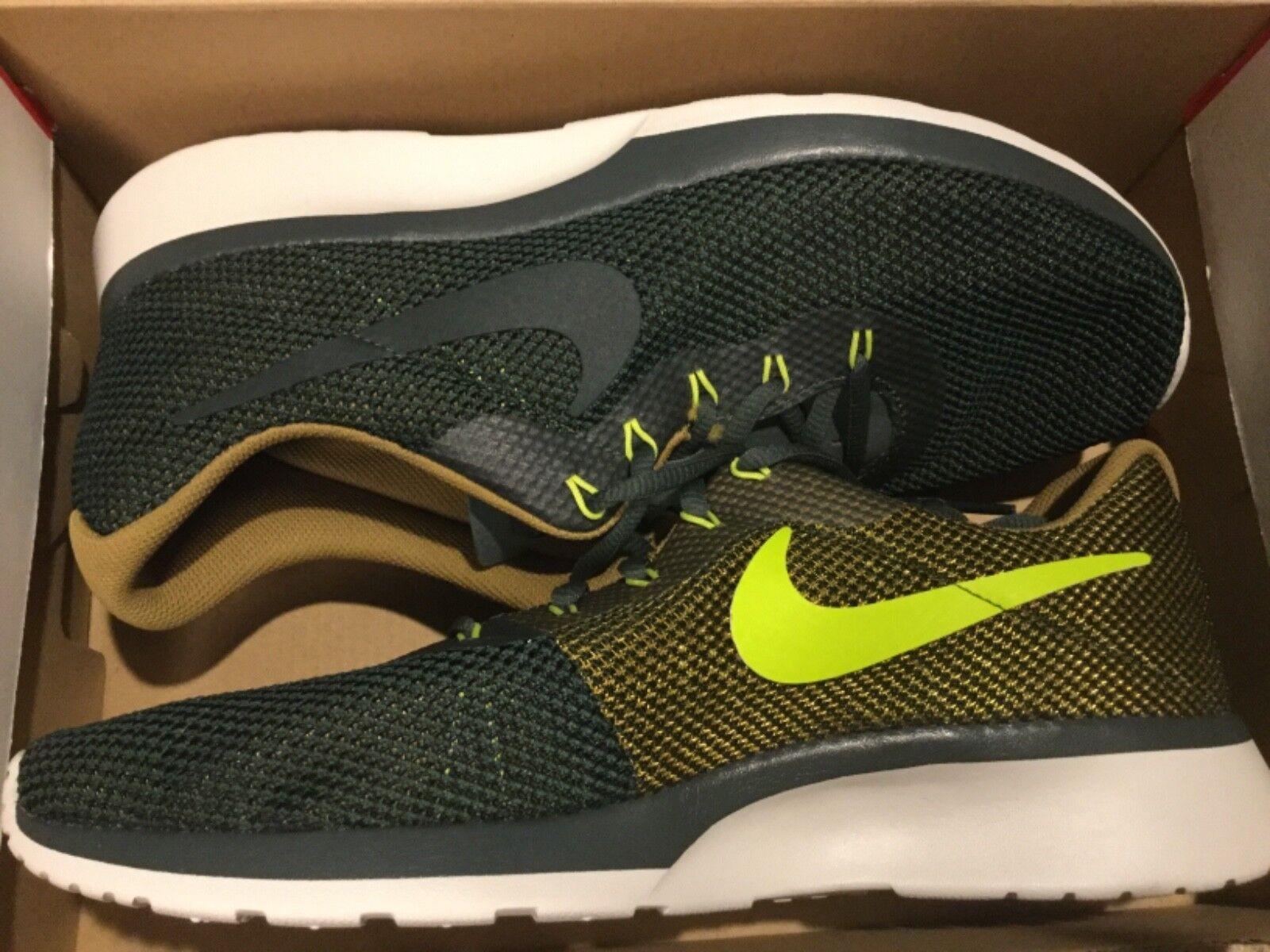 New Mens Nike Tanjun Racer Run Running Shoes 921669-300 Sz 10.5 Comfortable and good-looking